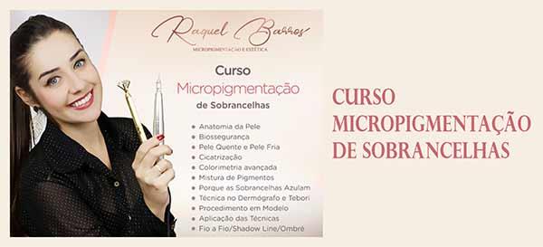 Curso Micropigmentação de Sobrancelhas