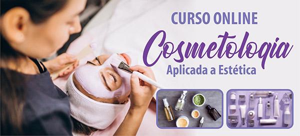 Curso de Cosmetologia Aplicada Estética Online