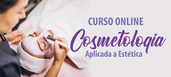 Curso de Cosmetologia na Estética Online